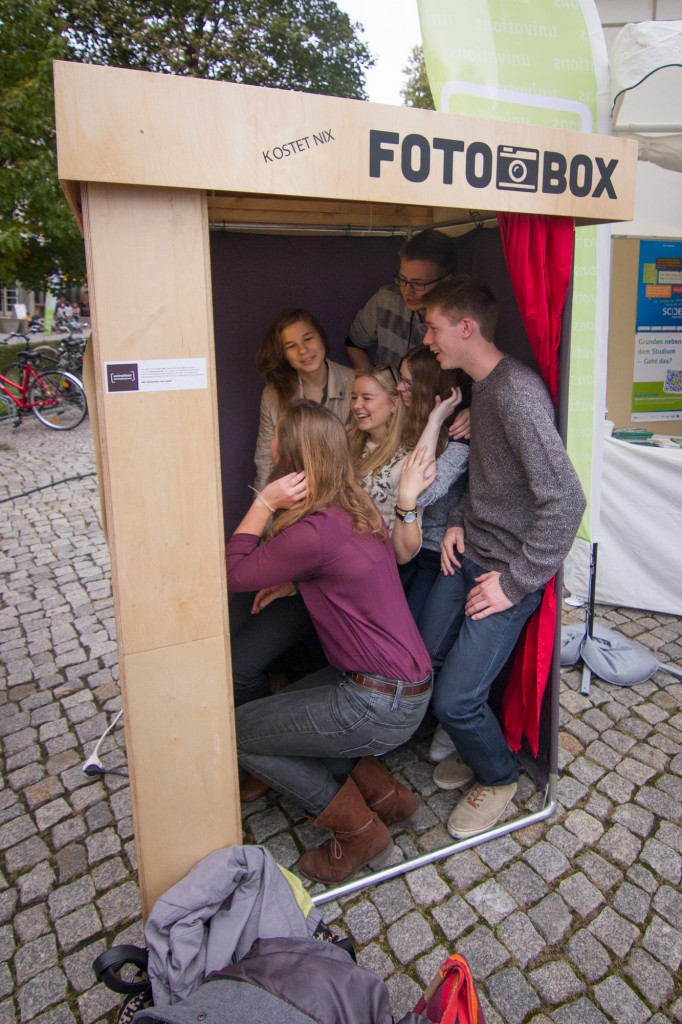 Fotobox beim Studieninformationstag