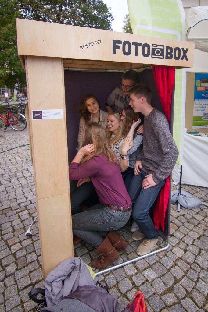 Fotobox beim Studieninformationstag